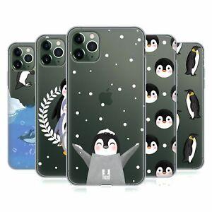HEAD CASE PENGUIN COLLECTION SOFT GEL CASE & WALLPAPER FOR APPLE iPHONE PHONES
