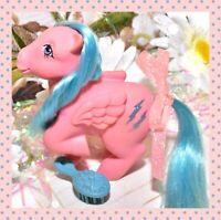 ❤️My Little Pony MLP G1 Vintage 1983 Pegasus Firefly Glitter Lightning Bolt❤️