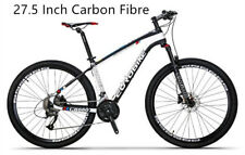 Brand New Cyber 2018 Black&White Carbon Fibre 27.5 inch  Shimano Mountain bike