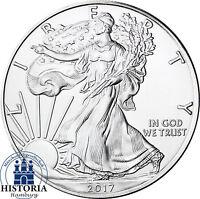 USA 1 Dollar 1 Oz Silber 2017 bfr  American Silver Eagle Silbermünze