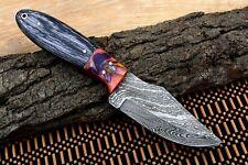 Mh Knives Custom Handmade Damascus Steel Full Tang Hunting/Skinner Knife D-53A