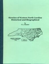Sketches of Western North Carolina, Historical and Biographical