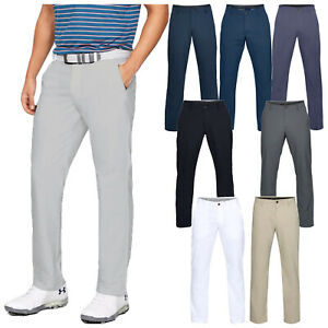 2021 Under Armour Mens EU Performance Stretch Tapered Trousers UA Golf Pants