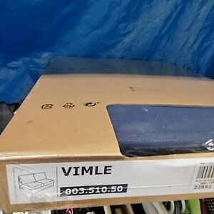 Vimle Slipcover for loveseat section ORRSTA Black Blue New Authentic IKEA cover