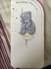 Clinton Me To You Bear Birthday card Free P&P