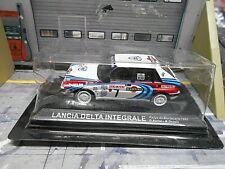 LANCIA Delta HF Integrale Rallye Monte Carlo 1990 #7 Auriol Blister IXO Al 1:43