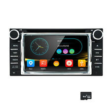 """2DIN Radio 6.2"""" Touch UI Dash Car Stereo DVD GPS NAV System Bluetooth for TOYOTA"""