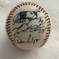 Miguel Cabrera Florida Marlins Game Used Signed Ball