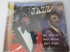 PIANO JAZZ ~ RAY CHARLES ~ FATS WALLER ~ EARL HINES ~ 2001 ~ NEW SEALED CD