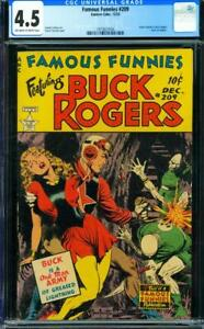 Famous Funnies #209 [1953] Certified 4.5 SPECIAL EFFECTS