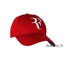 NEW 2017 RF Roger Federer RED Hat Cap Litmited Edition Adjustable Tennis Hat