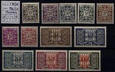 Monaco - 1946/57 - Segnatasse - nuovi - MNH - nn.29/39