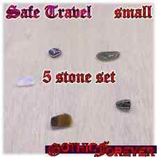 Safe Travel Journey Healing Gemstone Kit Set of 5 10mm SMALL Stones
