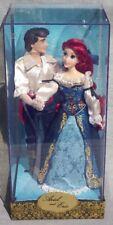 ARIEL & Prince ERIC sirene Poupée Edition Limitée Disney FAIRYTALE Collection
