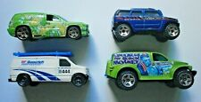 Lot of 4 Hot Wheels Matchbox Vans and Trucks Diecast ~ Excellent