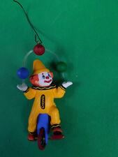 Hallmark Keepsake Ornament Clownin' Around Crayola Crayon Unicycle 1999 QX6487