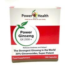 Power Health Power Ginseng G X 2500+ 100 Capsules
