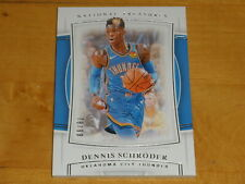 2019-20 Panini National Treasures Basketball 52 Dennis Schroder 78/99