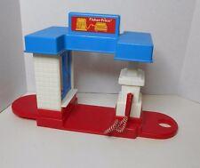 Vintage Fisher Price Gas Station 1989