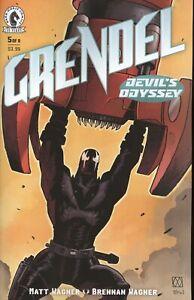 GRENDEL DEVILS ODYSSEY #5 COVER A WAGNER VF/NM 2021 DARK HORSE HOHC