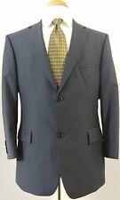 HUGO BOSS Gray Blue 42S 42 Suit Jacket  Silver Lining Wool Blazer FREE NECKTIE