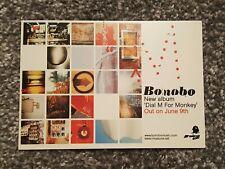 BONOBO POST CARD DIAL M FOR MONKEY NINJA TUNE