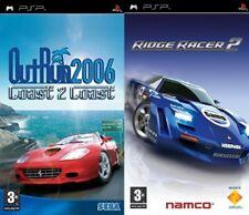 outrun 2006 coast to coast & ridge racer 2     PSP pal