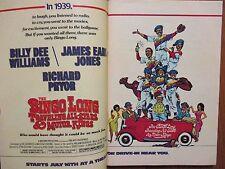 July, 1976 TV Guide(BILLY  DEE  WILLIAMS/JIMMIE WALKER/ERNIE BARNES/WAYNE ROGERS