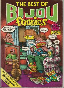1981 Underground Comics Paperback: 280 Pages - Bijou Funnies + Apex Treasury