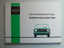 Volvo 142/144/145 mode d'emploi, 9.1973, 84 pages