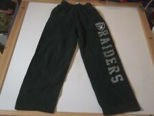 OAKLAND RAIDERS NFL BRAND DRAWSTRING SWEATPANTS w/ POCKETS -YOUTH MD LOS ANGELES