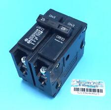 New Circuit Breaker Eaton Cutler Hammer Br225 25 Amp 2 Pole 120240v