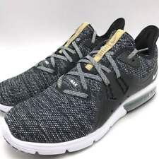 Nike Air Max Sequent 3 III Black White Grey Men Running Shoes Sneaker  921694-011