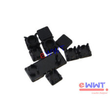 for Sony PS3 Slim Version Replacement 9pcs Plastic Screw Cap Cover Part ZJMA591