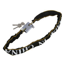 Heavy Duty Motorcycle Scooter Bike Cycle Motor Bicycle Chain Padlock DT