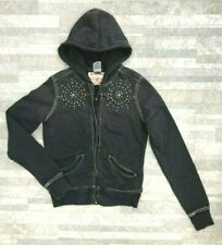 NWOT New! True Religion Women's Classic Studded Hoodie Sweater size: S