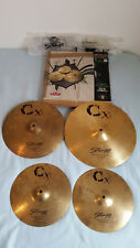 Pack complet Cymbales STAGG CXG
