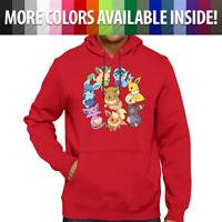 Eeveelution Pokemon Cute Eevee Evolve Go Pullover Hoodie Jacket Hooded Sweater