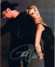 """Tim McGraw """"Humble and Kind"""" & Faith Hill """"Mississippi Girl"""" DUEL-SIGNED RP 8x10"""