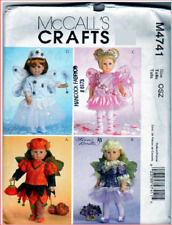 "McCall's 4741 Doll Clothes Pattern for 18"" Dolls"