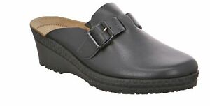 Rohde Neustadt Women Clogs Mules Slippers Cloqs Slippers Black 1472