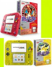 2DS Pokemon Red + Yellow pikachu console Nintendo Japan center monster