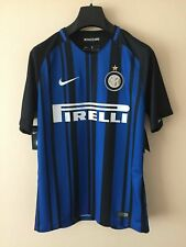 Nike 2017/18 Inter Milan Stadium Home Soccer Jersey Mens Sz Medium M 847274 011