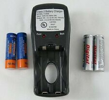 Class 2 Battery Charger V 2833 4 Aa Batteries As Is