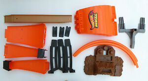 Hot Wheels Double Dare Snare Track Set Various Individual Parts NM