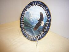 """The Bradford Exchange """"On Freedom's Wing"""" collector Plate"""