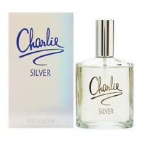 CHARLIE SILVER by Revlon Perfume 3.4 oz edt New in Box