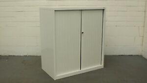 Office/Home/Garage Quarter Height Tambour Cabinet *NO Key Barrel* 42886/01