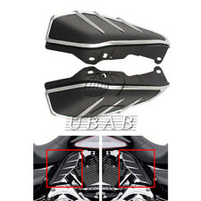 Black Flame Engine Mid-Frame Air Deflector & Trims For Harley Touring 09-up 17