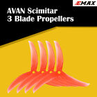 4x Emax AVAN Scimitar 5026 5028 5030 3Blade Propellers 2CW 2CCW for RC Drone